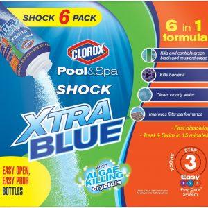 Clorox Pool&Spa Shock Xtra Blue, 6-Pound 33006CLX