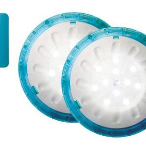 AquaLife Magnetic Waterproof LED Lights (2 Pack)