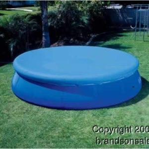 INTEX 12' Easy Set Swimming Pool Debris Cover Tarp   58919E