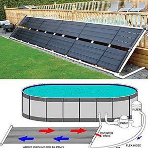 """Garden&Park Above Ground Pool Solar Heater 48"""" x 20' 80 Sq Ft Inground"""