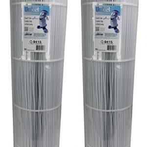 2) Unicel C-9415 Pentair Predator Clean   Clear 150 Pool Filter Cartridges C9415