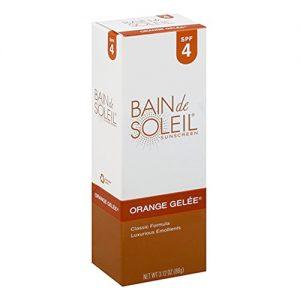Bain de Soleil Orange Gelee Sunscreen  Tanning Lotion  SPF 4 3.12 oz