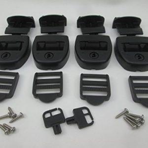 4X Spa Hot Tub Cover Latch Strap Repair Kit   Key Hot Spring Caldera Video How To