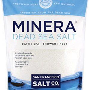 Minera Dead Sea Salt 10 lb. Fine Grain Bulk Bag   Bath & Spa Mineral Salt