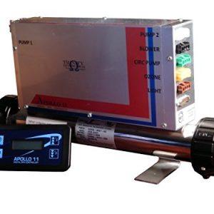 Apollo 11 Digital Spa Controller  Spa Pack   Spa Control Syrtem 2 Pumps  Blower  Circ Pump  Ozone  Fiber Optic Light  12V Light with Heater