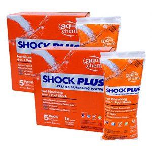 Aqua Chem 12001AQU 02 Shock Plus for Swimming Pools (10 Pack)  1 lb