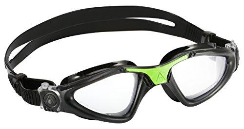 Aqua Sphere Kayenne Goggle  Clear Lens  Black/Green