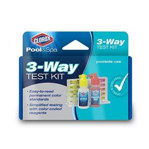 CLOROX Pool Spa 71000CLX 3-Way Test Kit