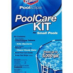 CLOROX Pool&Spa 69000CLX Pool Care Kit for Small Pools