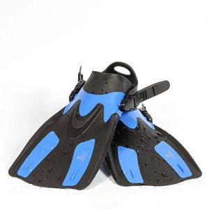 Calypso Swimming Fin - Open Heel Adjustable Snorkel Fin - (L XL)