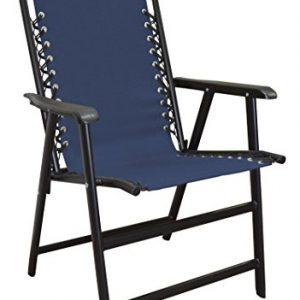 Caravan Sports Suspension Folding Chair  Blue