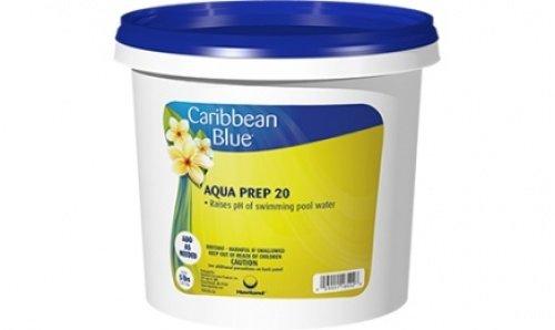 Caribbean Blue Aqua Prep 20 Swimming Pool pH Increaser by Pool   Spa Chemicals (2 Lb)