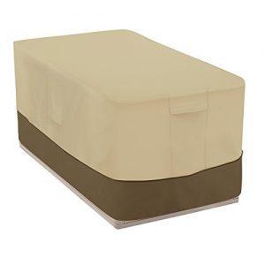 Classic Accessories Veranda Patio Deck Box Cover - Durable and Water-Resistant Patio Furniture Cover  55-Inch (55-706-011501-00)