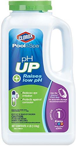 Clorox Pool Spa pH Up  4-Pound 19004CLX
