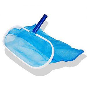 Czyjoe Heavy Duty Deep-Bag Pool Net Pool Skimmer Leaf Skimmer Rake - Fine Mesh Net for Cleaning Pool  Hot Tub  Spa  Fountain Removing Leaves   Debris