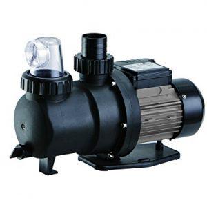 FlowXtreme NE4523 Prime above Ground Pool Pump  2300 GPH/0.75HP  Black