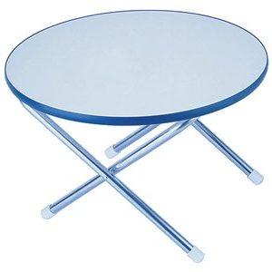 Garelick EEz-In 50410 01 Folding Deck Table Melamine Top Series - 24  Round