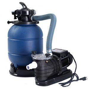 "Goplus New Pro 13"" Above Ground Pools Sand Filter Pump 2450GPH Swimming Pool Pump 10000GAL"