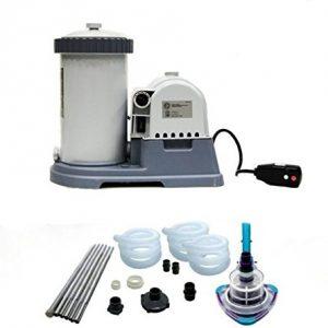 INTEX 2500 GPH Krystal Clear Swimming Pool Filter Pump w  GCFI   V-Trap Vacuum