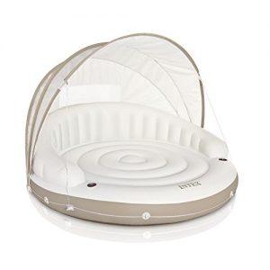 Intex Canopy Island Inflatable Lounge  78  X 59