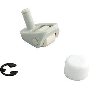 Jandy Zodiac R0379100 Gunite Swivel Wheel Kit for Pool Cleaner - White