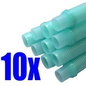 "Kreepy Krauly (Universal 1½"") 48"" pool cleaner hose AQUA 10 Pack"
