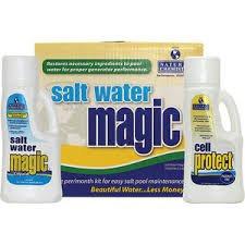 Natural Chemistry 7404 Pool Salt Water Maintenance Kit - 2 Pack