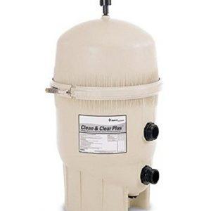 Pentair 160301 Clean   Clear Plus Fiberglass Reinforced Polypropylene Tank Cartridge Pool Filter  420 Square Feet  150 GPM (Residential)