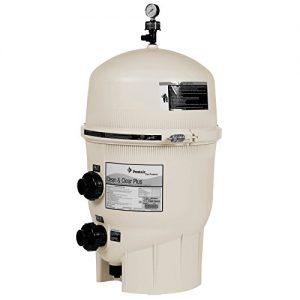 Pentair 160310 Clean   Clear Plus Fiberglass Reinforced Polypropylene Tank Cartridge Pool Filter  240 Square Feet  90 GPM (Residential)