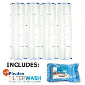 Pleatco Cartridge Filter PCC105-PAK4 Pack of 4 Pentair Clean   Clear Plus 420 Waterway CW425 C-7471 w  1x Filter Wash