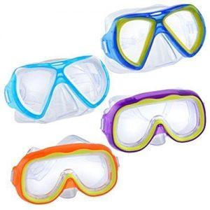 """Safety First"" Splash N Swim Child Sized Swim Masks Goggles Assortment! (Set of 4)"
