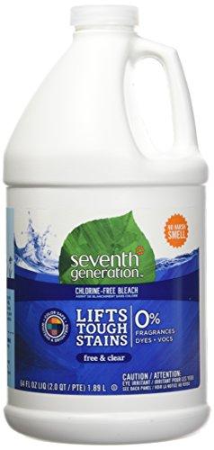 Seventh Generation Chlorine Free Bleach  Free & Clear  64 oz